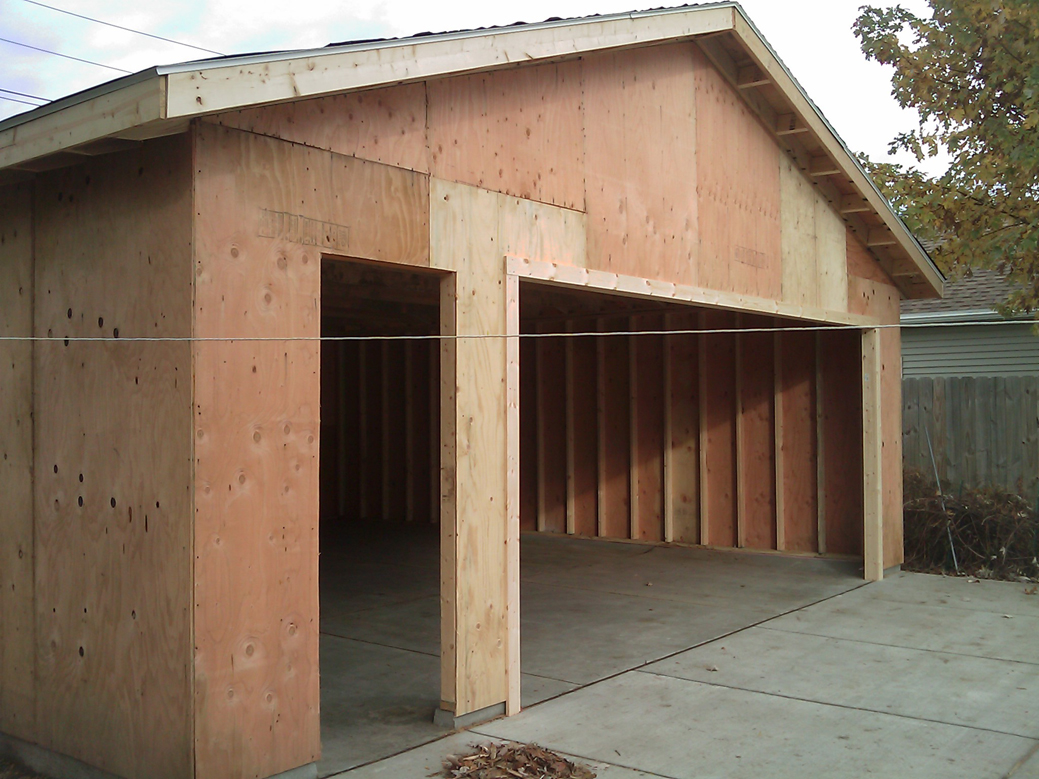 Garage builders in buffalo ny area custom garage builders wny for 2 1 2 car garage size
